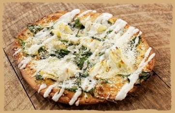 Picture of Spinach & Artichoke Flatbread